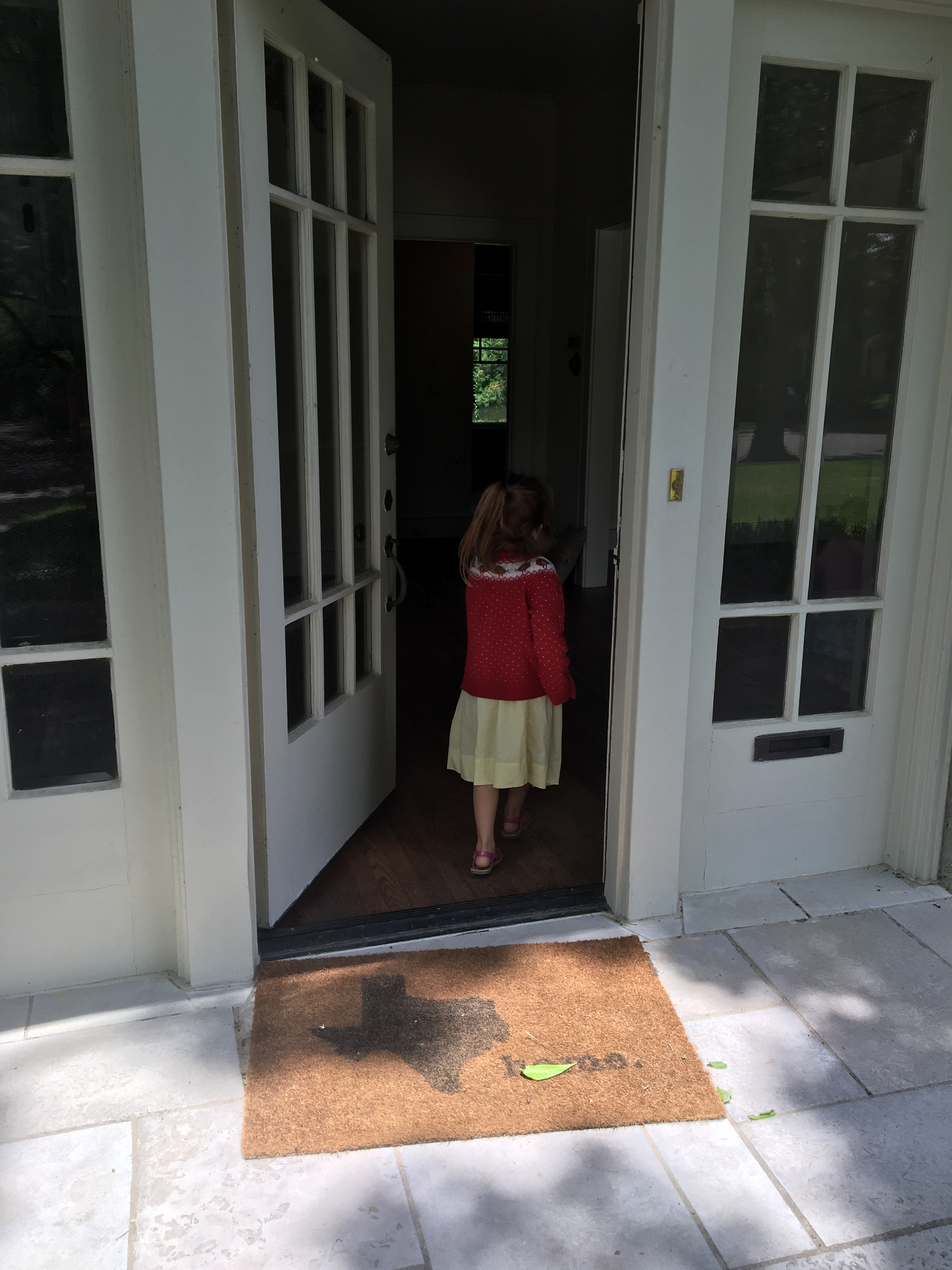 Upon entering the front door you are greeted with cheerful bright light filtered through 100 year old windows and a welcoming staircase. & Uncovering a Secret Staircase. \u2013 Young Family Old Home